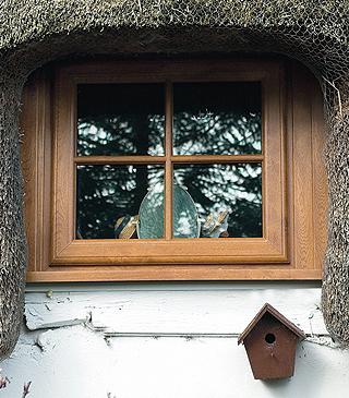 Irish Oak Astragal Bar Window