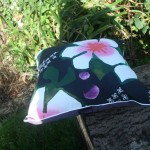 funky flower cushion