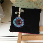 ipad flower pouch