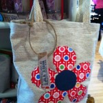 Applique Shopper bag