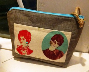 Zippy make-up bag