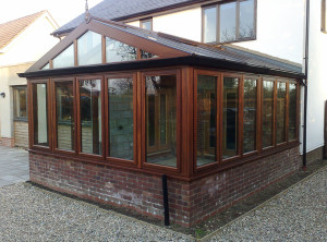 Gable Front Sapele Conservator